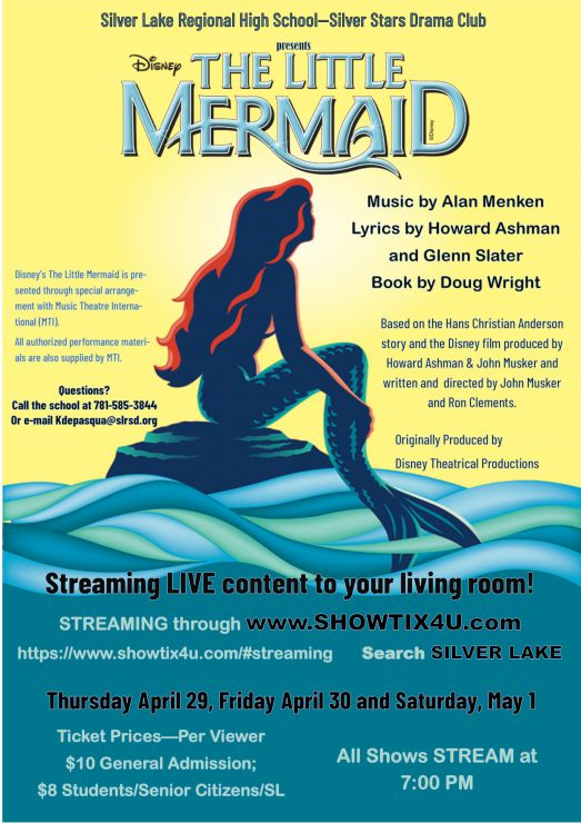 Little Mermaid Production Poster 2021