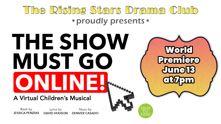 Click to watch the show must go online